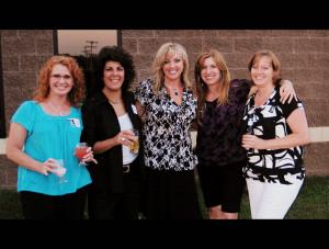 Darci,+Kathy,+Toni,+Me+Vickie 25 year class reunion