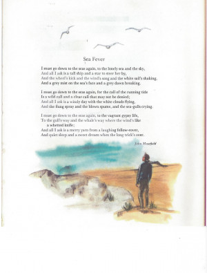 Sea Fever by John Masefield.