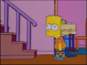 Bart Simpson Sad Face