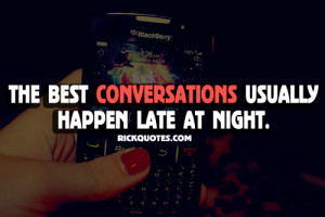 Time Quotes | Best Conversation Happen Late Night Time Quotes | Best ...