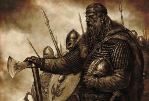 ... ourselves Vikings – or at least direct descendants of the Vikings