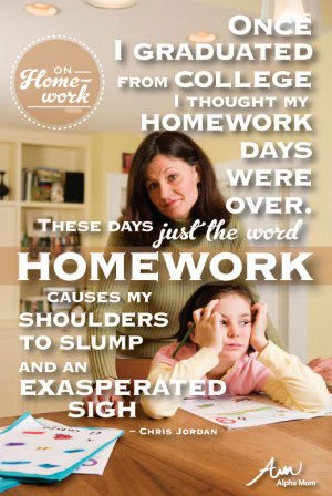 Quotes About Homework Stress ~ When Kids Get Too Much of the Wrong ...