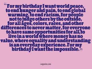 it s my birthday quotes