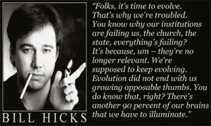 Hicks, Carlin, Stanhope, Orwell etc quotes