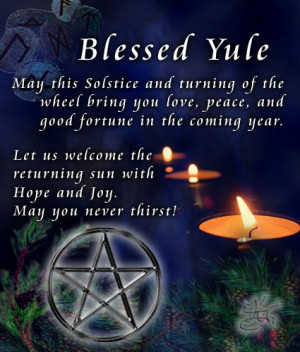 Yule Lore (December 21st)