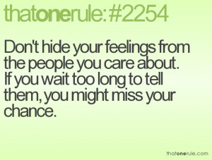 Hurt Your Feelings Quotes