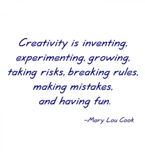 Topics: Creativity , Quotes