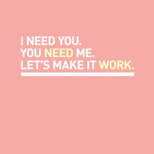 let s make it work