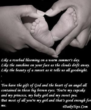 Mother Love Daughter Poem