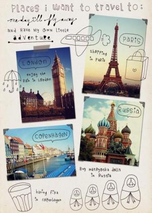... eiffel tower, london, paris, places, plane, russia, shopping, travel