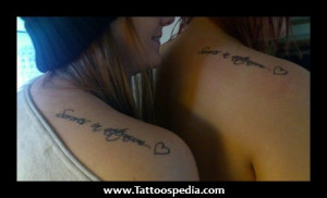 matching cousin tattoo quotes matching tattoos