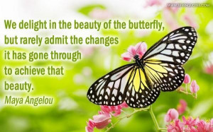 Beauty of the butterfly picture quotes image sayings