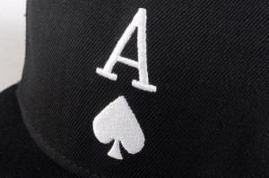 casquette-ace-of-spades-as-de-pique-noir-blanc-snapback-reglable ...