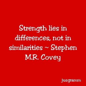 Covey Quote!