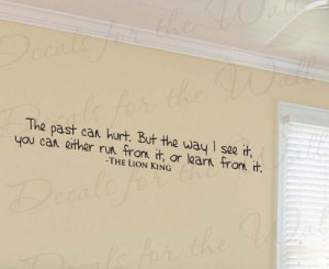 The Past Can Hurt Lion King Rafiki - Disney Girl's or Boy's Room Kids ...