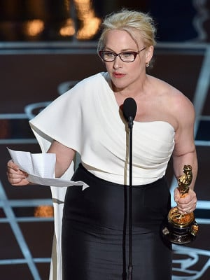 Patricia Arquette Preaches for Women's Rights On AND Off the Oscars ...