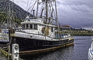 Old Wooden Fishing Boat...
