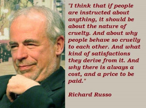 Richard russo famous quotes 1