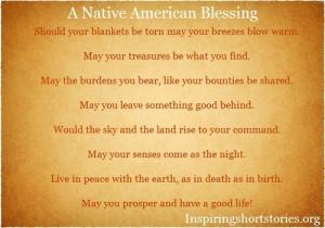 Native American Blessing | Inspiring Short Stories