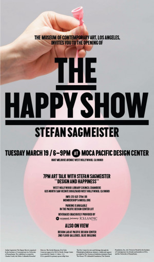 // Stefan Sagmeister // MOCA // AIGA Los Angeles // Jeffrey Deitch ...