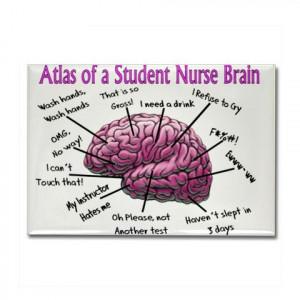 nursing student's brain