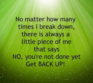 Get Back Up: Quote About Get Back Up ~ Daily Inspiration