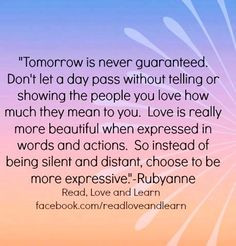 appreciation quote via www facebook com more love rel quotes quotes ...