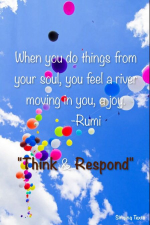 joy #Rumi #quote #happy