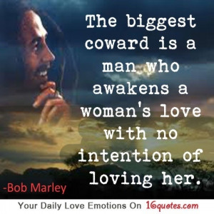 Bob Marley quote #coward