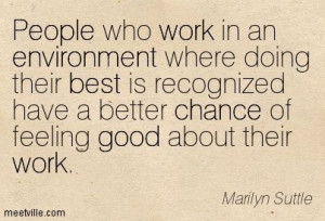 Positive Quotes For Work Environment Quotation-Marilyn-Suttle-