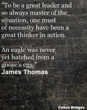 Great #quote from James Thomas! Enjoy the quote today!