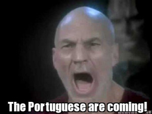 The Portuguese are coming!