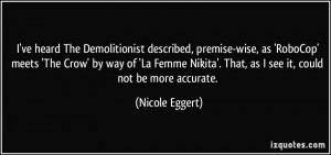 More Nicole Eggert Quotes