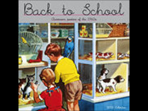 Back to School 2012 Wall Calendar