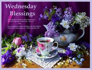 Wednesdays blessings ♥