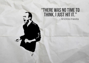 may 13 32 iniesta inspirations quotes sayings football facebook ...