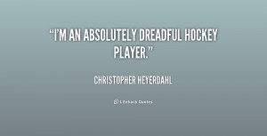 Hockey Player Quotes