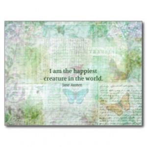 jane_austen_whimsical_quote_pride_and_prejudice_postcard ...