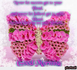 High Definition Inspirational Good Morning Quotes Wallpapers butterfly ...