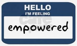 What does feeling empowered feel like to you?