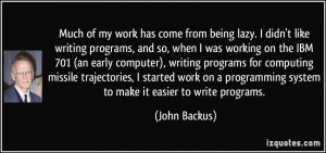Much Work Has From...