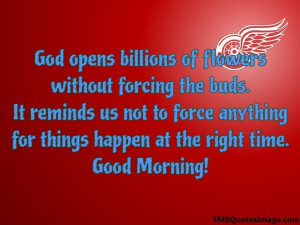 Good Things Come To Good People Quotes Good morning sms / quote image