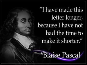 Blaise Pascal Quotes Math