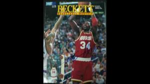 hakeem olajuwon basketball hakeem olajuwon autographed basketball ...