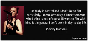 More Shirley Manson Quotes