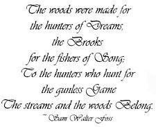 ... Rubber Stamp, Quote, Nature, Fishing, Poems, Poetry ,Hunters of Dreams