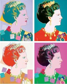 ANDY WARHOL | Reigning Queens: Queen Margrethe II of Denmark More
