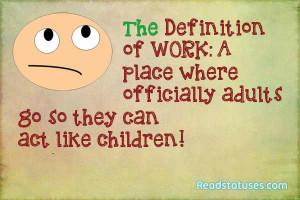 Work sarcasm statuses
