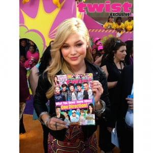 Olivia Holt Talks About The