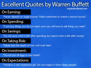Excellent Quotes by Warren Buffett
